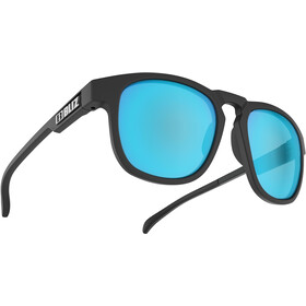 Bliz Ace Glasses matte rubber black/smoke/blue multi